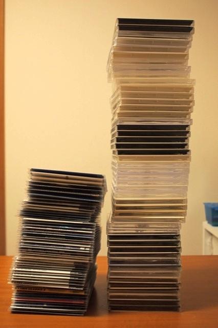 メディアパスでCDをコンパクトに収納 - キオクトキロク